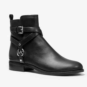Preston Leather Ankle Boot from Michael Kors